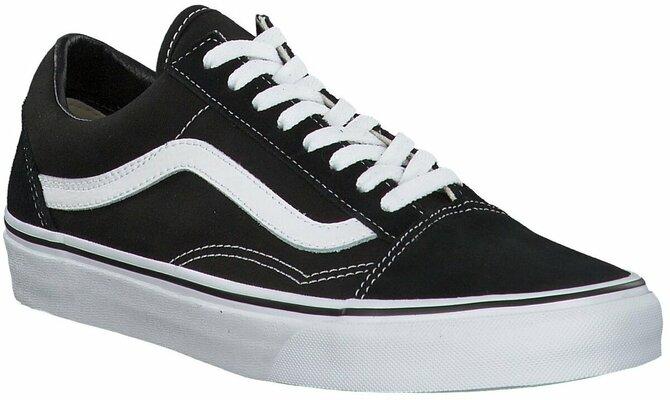 Juppen: VANS Old Skool Sneaker für Herren 671897 (Schwarz