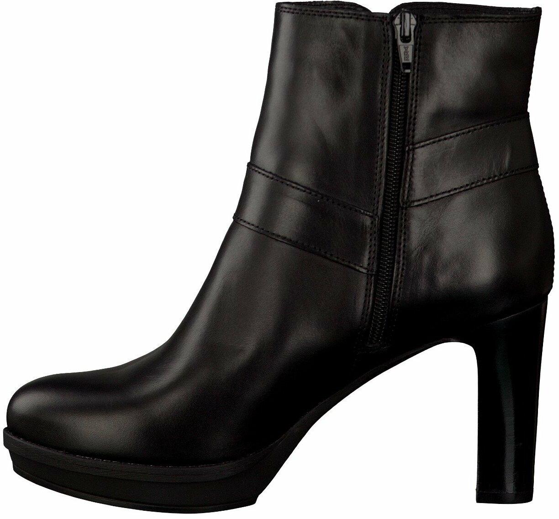 Unisa Damen Stiefeletten aus Leder in Schwarz Stiefeletten