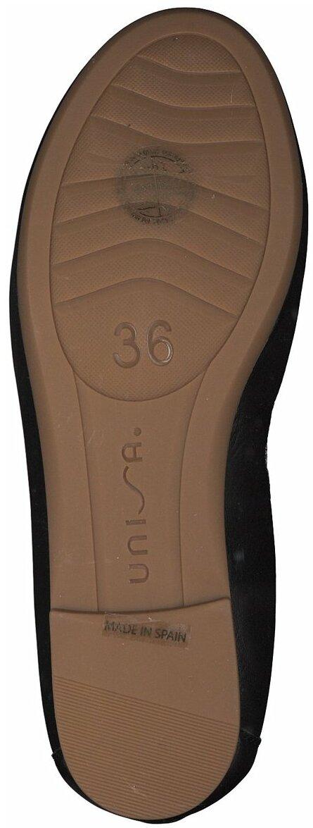 Juppen: Unisa Ballerinas 396503 (Schwarz) online shoppen