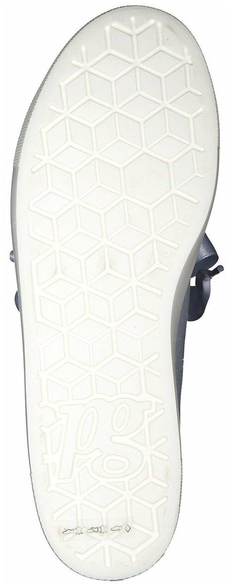 Juppen: Paul Green Leder Sneaker für Damen 770677 (Hellblau