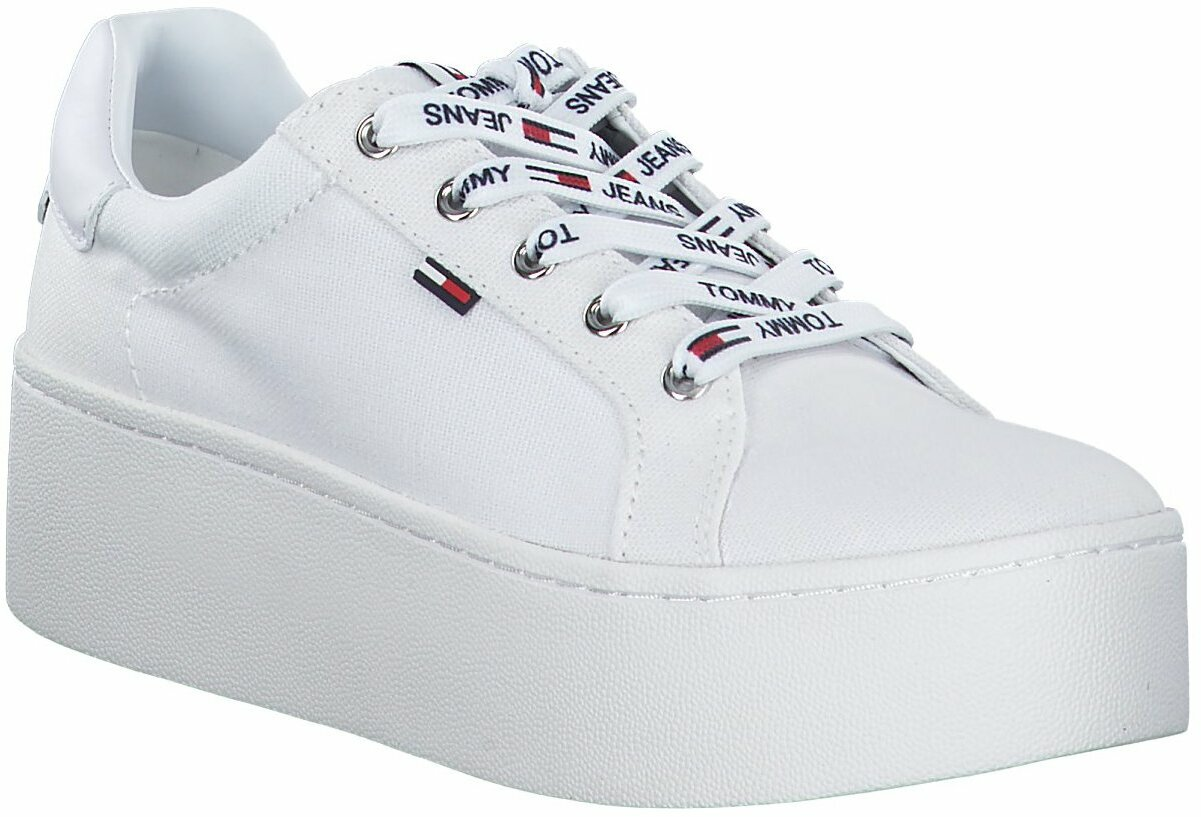 tommy hilfiger plateau sneakers, Up to
