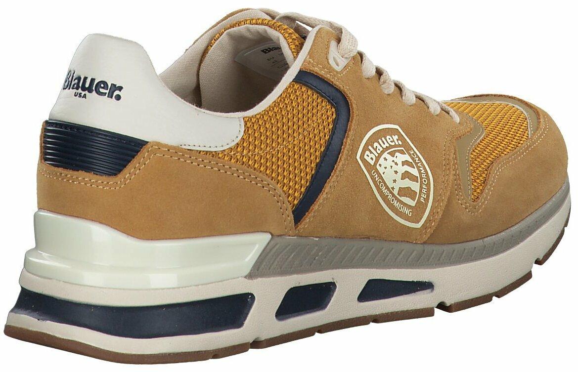 Hose gelbbraun blau 12769 Schuhe