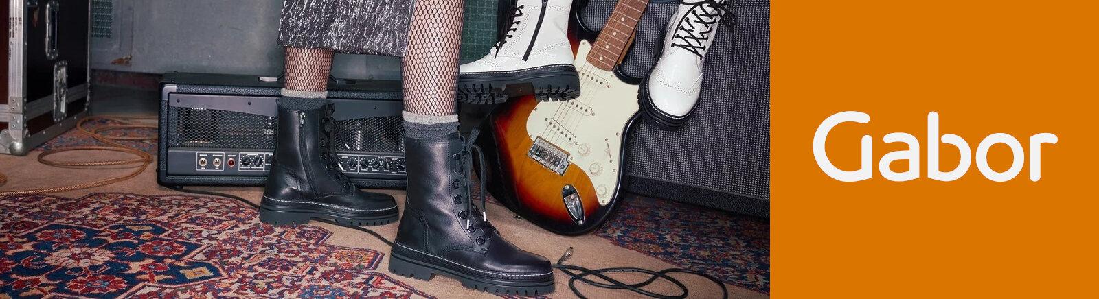 Juppen: Gabor Biker Boots für Damen online shoppen